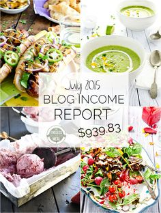 July Blog Income Report :: Learn how the food blog The Endless Meal earns an income and where the traffic comes from. :: theendlessmeal.com
