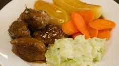 Lær deg god norsk matlaging med Andreas Myhrvold. Mashed Potatoes, Pork, Beef, Ethnic Recipes, Dinners, Crafts, Diy, Whipped Potatoes, Pork Roulade