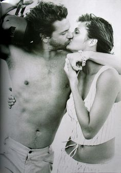 Michael Hutchence & Helena Christensen | Photography by Peter Lindbergh | 1994