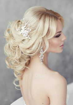 Elegant chic hairstyle idea from Elstile More