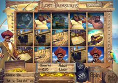 Pirate themed slots are arguably the most used type of slot in the world, so we needed to make sure we had a state of the art 3D one in order to make sure our very important players are not left out. This 5 reel and 30 payline slot machine is a bundle of fun, with great characters and bonus rounds that will keep you glued to the screen for hours on end!    To play our Lost Treasures 3D slot machine you need to create an account at Castle Casino.
