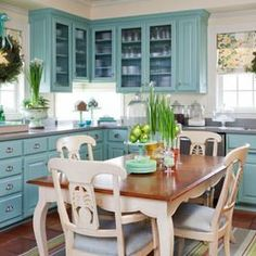 annie sloan provence kitchen cabinets - Google Search