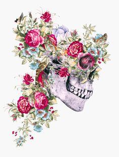 ghost in the machine - lesstalkmoreillustration: Art Prints by Riza. Skull Artwork, Skull Painting, Ghost In The Machine, Sugar Skull Art, Sugar Skulls, Skulls And Roses, Anatomy Art, Skull Tattoos, Tatoos
