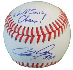 SF Giants Clay Hensley signed Rawlings ROLB leather baseball w/ inscription & proof photo.  Proof photo of Clay signing will be included with your purchase along with a COA issued from Southwestconnection-Memorabilia, guaranteeing the item to pass authentication services from PSA/DNA or JSA. Free USPS shipping. www.AutographedwithProof.com is your one stop for autographed collectibles from San Francisco Bay Area Sports teams. Check back with us often, as we are always obtaining new items.