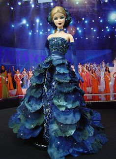 Barbie Miss Mordovia 2009 by Ninimomo Dolls