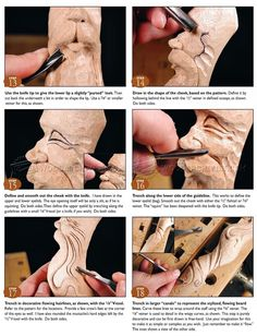 Carving Wizard Staff - Wood Carving Patterns - Wood Carving Patterns and Te. Holzschnitzen , Carving Wizard Staff - Wood Carving Patterns - Wood Carving Patterns and Te. Carving Wizard Staff - Wood Carving Patterns - Wood Carving P. Wood Carving Faces, Dremel Wood Carving, Wood Carving Designs, Wood Carving Patterns, Wood Carving Art, Carving Tools, Wood Patterns, Wood Art, Wood Carvings