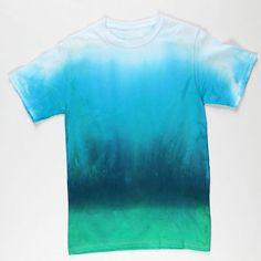 Deep Blue Sea Tie-Dye T-shirt
