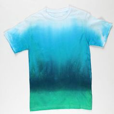 Deep Blue Sea Tie-Dye T-shirt