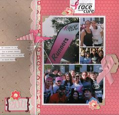 Race For the Cure, by Gretchen McElveen...love the grid