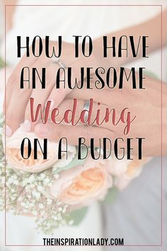 You don't need to spend a ridiculous amount to have a pretty wedding. There are plenty of ways to cut costs and have an awesome wedding on a budget.