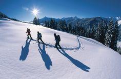 #winterwandern in #tux #finkenberg #tvb #wandern #winter #schnee #powder #tirol #alpen #berge natur #aktiv #sport #ausflug