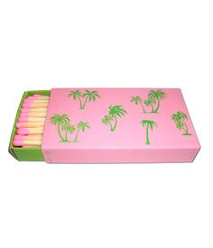 Palm Tree Matches #summer #packaging