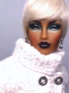 African American Barbie Doll (Barbie Stepped Up) - by Adelelvr Barbie I, Black Barbie, Barbie World, Barbie And Ken, Barbies Dolls, Beautiful Barbie Dolls, Pretty Dolls, Diva Dolls, African American Dolls