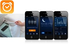 Want a good night's sleep but don't have the cash to shell out for a fancy gadget? The Sleep Cycle iPhone app uses your phone's accelerometer to monitor your movements, and wake you up during your lightest phase of sleep.