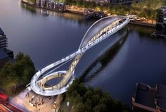 7 | 87 Brilliant Designs For A New Pedestrian-Cycling Bridge In London | Co.Exist | ideas + impact