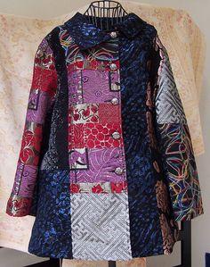 Patchwork Coat - Large by cleoxcat, via Flickr