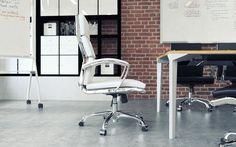 Modern office interior rendered in KeyShot by Boyd Meeji.