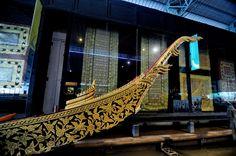The Royal Barge National Museum in Bangkok Thailand by Liêm Phó Nhòm