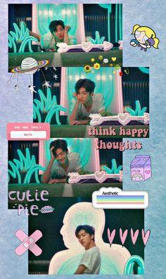 More Wallpaper, Iphone Wallpaper, Kpop Backgrounds, Matching Wallpaper, Nct Dream Jaemin, Think Happy Thoughts, Na Jaemin, Love Blue, Jisung Nct