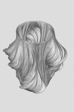 Interesting #3DPrinting component: #Julia Vase 011