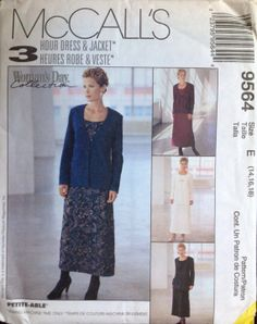 McCall's 9564 Misses dress and jacket in two by Lonestarblondie, $5.00