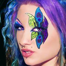 Maquiagem artística - flor