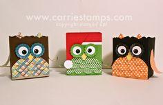 Owl Fancy Favor Boxes