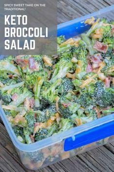 Broccoli Salad - Keto Recipe - Grumpy's Honeybunch