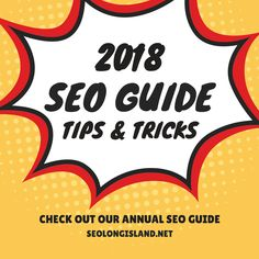 You need this SEO guide! Packed with updated SEO tips and tricks for 2018, this SEO guide will give you the edge your business or agency needs to rank your website. Follow these white-hat SEO techniques and you'll be ranking your website in no time!