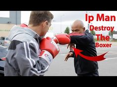 ip Man Destroy the Boxer - Wing Chun Martial Arts Workout, Martial Arts Training, Boxing Workout, Boxing Boxing, Boxing Techniques, Martial Arts Techniques, Wing Chun Martial Arts, Self Defense Moves, Shotokan Karate