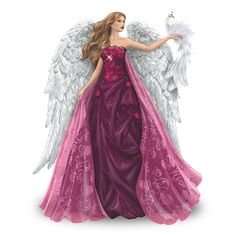 Amazon.com - Figurine: Wings Of Love Figurine by The Hamilton Collection - Nene Thomas Angel