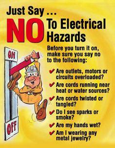 electricity safety posters for kids - Google Search