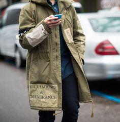 Cool style, love this #parka #nohow