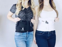 Concealed carry holster options for women. The first soft holster with retention and trigger protection. Concealed Carry Women, Concealed Carry Holsters, Carry On, Corset, Camisole Top, Tank Tops, Shopping, Fashion, Moda