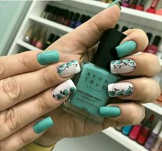 Love the colors! Round Nail Designs, Accent Nail Designs, Natural Nail Designs, Acrylic Nail Designs, Glamour Nails, Classy Nails, Trendy Nails, Cute Nails, Fabulous Nails