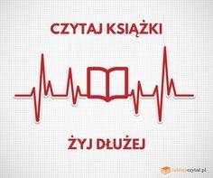 Czytaj książki, żyj dłużej - Lubimyczytać.pl