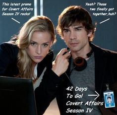 #42 from the 2013 #CovertAffairsCountdown. This one was a hit!