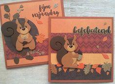 LindaCrea: Eekhoorn #1 - Herfst