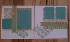 layout by Kelly Maatman using CTMH Veranda paper (retired)... but I still have it!