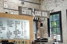 Image result for industrial cafe