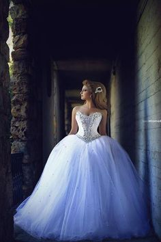 Princess Ball Gown Wedding Dresses #dhgatepin                                                                                                                                                     More