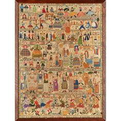 ENGLISH SCHOOL EMBROIDERED WOOLWORK SAMPLER, DATED 1941 88.5 x 66cm
