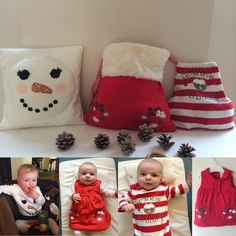Transform your lovely Christmas outfits into a memory forever. Take a look for transformation ideas at www.babybuttonlane.co.uk #memories #santasack #cushion #baby #christmasoutfits #mumorabilia #memorabilia #babygrow