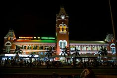 Chennai Central Railway Station !!