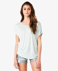 Graduated Stud Top   FOREVER21 - 2038561768 $13.80