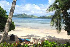 Turtle Island Fiji ,vieiw from front door Plantation Island, Islands In The Pacific, Fiji Islands, Treasure Island, Archipelago, Turtle, Remote, Beautiful Places, Heaven