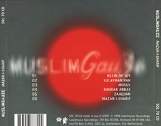 MuslimGauze - Mazar I Sharif back cover  #muslimgauze #ambient #oriental #industrial #experimental #electronic #music #artwork