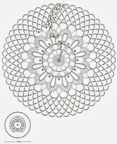 Crochet Art: Crochet Doilies Free Patterns - Beautiful Small Doilies Knitting ProjectsCrochet For BeginnersCrochet PatronesCrochet Amigurumi Free Crochet Doily Patterns, Crochet Coaster Pattern, Crochet Motifs, Crochet Diagram, Crochet Art, Crochet Round, Crochet Squares, Thread Crochet, Filet Crochet