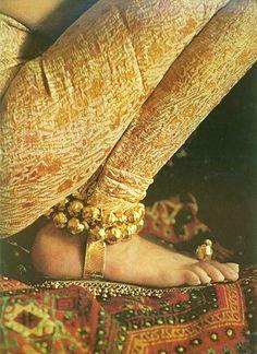 bernardo sandals in Vogue, 1965