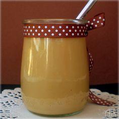 Natillas de toffee con caramelos  Werther's Original